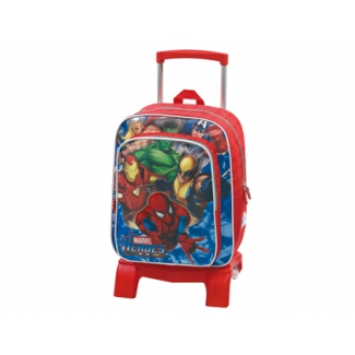 Cartera escolar Jaimarc marvel heroes mochila junior con trolley 400x320x190