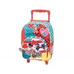 Cartera escolar Jaimarc minnie mochila con trolley 460x280x200 mm