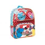 Cartera escolar Jaimarc minnie mochila multibolsillo 400x360x180 mm