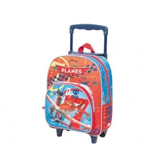 Cartera escolar Jaimarc planes mochila con trolley 460x280x200 mm