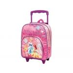 Cartera escolar Jaimarc princesas disney mochila con trolley 460x280x200 mm