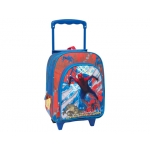Cartera escolar Jaimarc the amazing spiderman mochila con trolley 460x280x200 mm