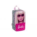 Cartera escolar Safta barbie fabulous life zapatillero 30x16x12 cm s
