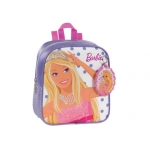 Cartera escolar Safta barbie mochila color infantil guardería 260x340x110 mm