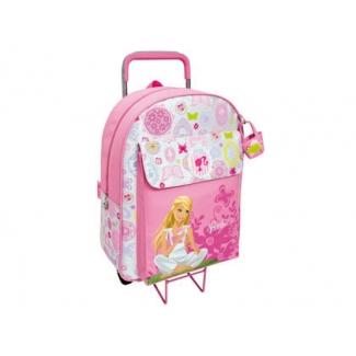 Cartera escolar Safta barbie mochila escolar trolley 330x420x140 mm