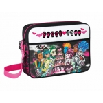 Cartera escolar Safta monster high dracula bolso bandolera 38x28x10 cm