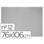 Carton color gris Nº 12 76x106 cm hoja