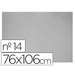 Carton color gris Nº 14 76x106 cm hoja