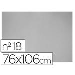 Carton color gris Nº 18 76x106 cm hoja