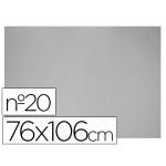 Carton color gris Nº 20 76x106 cm hoja
