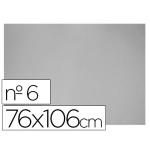 Carton color gris Nº 6 76x106 cm hoja