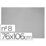 Carton color gris Nº 8 76x106 cm hoja