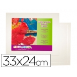 Carton entelado lidercolor 4f 33x24 cm para pintura al oleo y acrilico