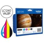 Cartucho Brother negro y referencia LC-1240VALBP, impresoras MFC-j6510DW, J6710DW, J6910DW