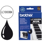 Cartucho Brother referencia LC-1000BK negro