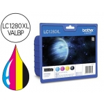 Cartucho Brother referencia LC-1280XL VALBP, impresoras MFC J5910DW, J6510DW, J6710DW, J6910DW