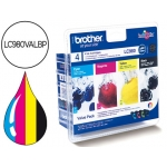 Cartucho Brother referencia LC980VALBP tricolor + negro