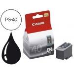 Cartucho Canon referencia 0615B001 Nº PG-40 negro