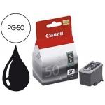 Cartucho Canon referencia 0616B001 Nº PG-50 negro