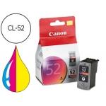 Cartucho Canon referencia 0619B001 Nº CL-52 negro