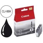 Cartucho Canon referencia 0620B001 Nº CLI-8BK negro