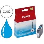 Cartucho Canon referencia 0621B001 Nº CLI-8C cian