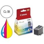 Cartucho Canon referencia 2146B001 Nº CL-38 tricolor