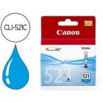 Cartucho Canon referencia 2934B001 Nº CLI-521C cian