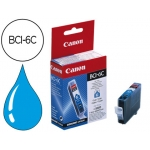 Cartucho Canon referencia 4706A002 Nº BCI-6C cian