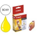 Cartucho Canon referencia 4708A002 Nº BCI-6Y amarillo