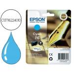 Cartucho Epson 16 cian referencia C13T16224010