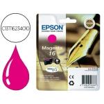 Cartucho Epson 16 magenta referencia C13T16234010
