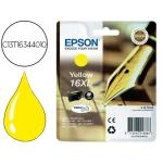 Cartucho Epson 16XL amarillo referencia C13T16344010
