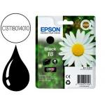 Cartucho Epson referencia C13T18014010 negro