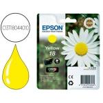 Cartucho Epson referencia C13T18044010 amarillo