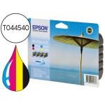Cartucho Epson referencia T0445401 negro amarillo cian y magenta XXL