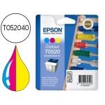 Cartucho Epson referencia T052040 tricolor