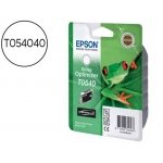 Cartucho Epson referencia T054040 Optimizador de brillo