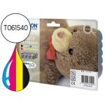 Cartucho Epson referencia T061540 tricolor + negro