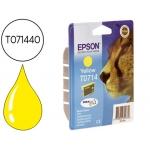 Cartucho Epson referencia T071440 amarillo