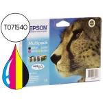 Cartucho Epson referencia T071540 tricolor + negro