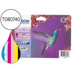 Cartucho Epson referencia T080740 tricolor