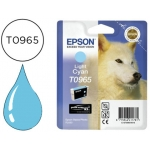 Cartucho Epson stylus photo referencia R2880 T0965 cian claro