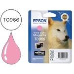 Cartucho Epson stylus photo referencia R2880 T0966 magenta claro