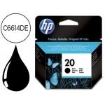 Cartucho HP 20 negro referencia C6614DE