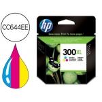 Cartucho HP 300XL tricolor referencia CC644EE