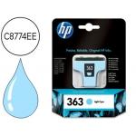 Cartucho HP 363 cian claro referencia C8774EE - C877
