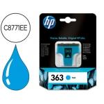 Cartucho HP 363 cian referencia C8771EE - C877