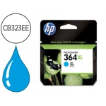 Cartucho HP 364XL cian referencia CB323EE , cb31