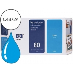 Cartucho HP 80 cian referencia C4872A